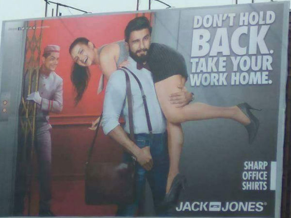 Siddharth Ranveer Singh Jack And Jones Advertisement Banned