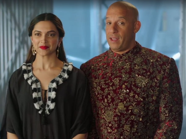 Deepika Padukone Reveals That Vin Diesel Is Like Family To Her Just