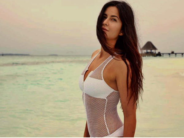 Her Another Picture From Maldives