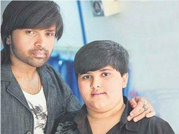 Himesh With His Son