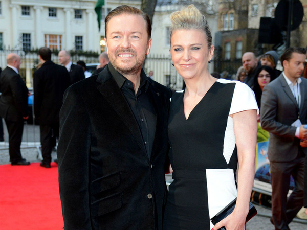 Ricky Gervais Believes He Is Already Married To Jane Fallon