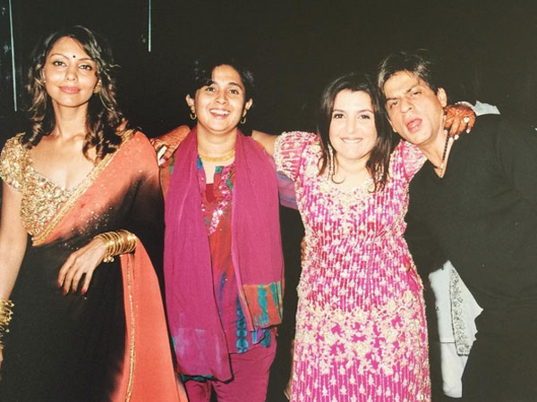 Farah With Shahrukh & Gauri