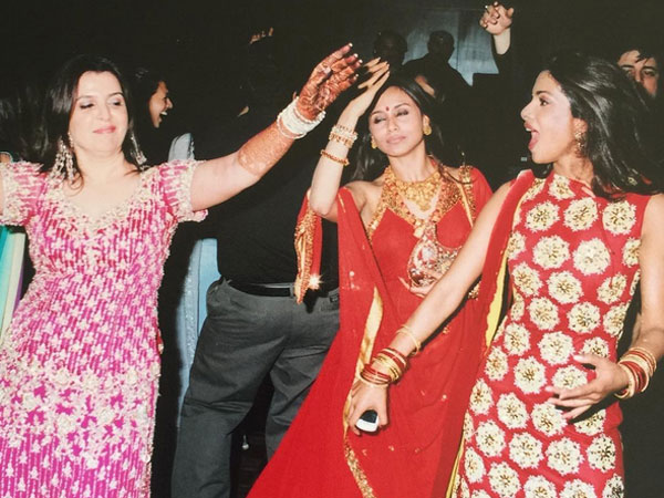 Farah With Rani & Priyanka
