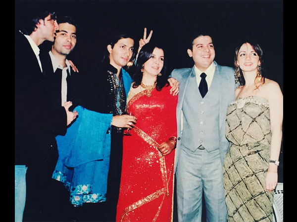 Farah Khan With Her Close Friends