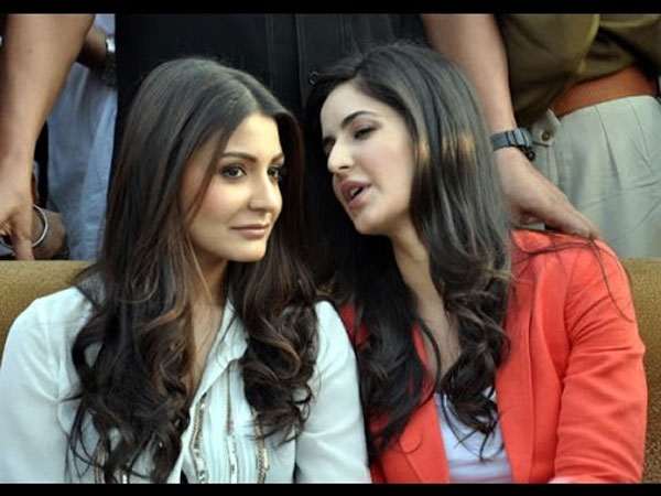 Anushka Shares A Great Rapport With Katrina