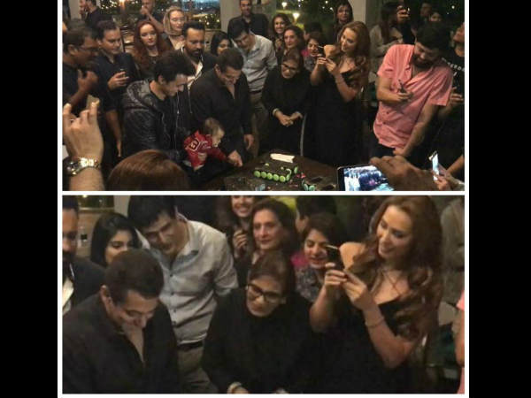 INSIDE PICTURES Salman Khan Rings In His 51st Birthday With Iulia