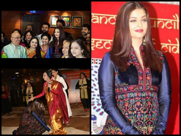 Pictures! Aishwarya Rai Bachchan Gets TEARY-EYED Seeing Her Dance Teacher Performing At An Event!