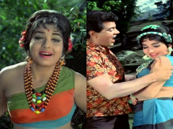 Jayalalithaa With Dharmendra In The Film Izzat, The Only Bollywood Film She Acted In!
