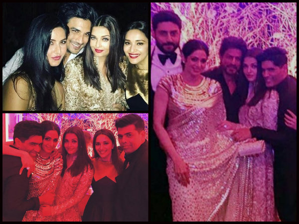 NEW INSIDE PICS: Aishwarya Rai Bachchan Bonds With SRK, Madhuri & Katrina At Manish Malhotra's Bash!
