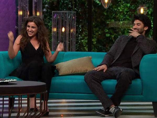 'Best Buddies' Parineeti & Aditya Were 'Full Of Energy' On Koffee With Karan Couch!