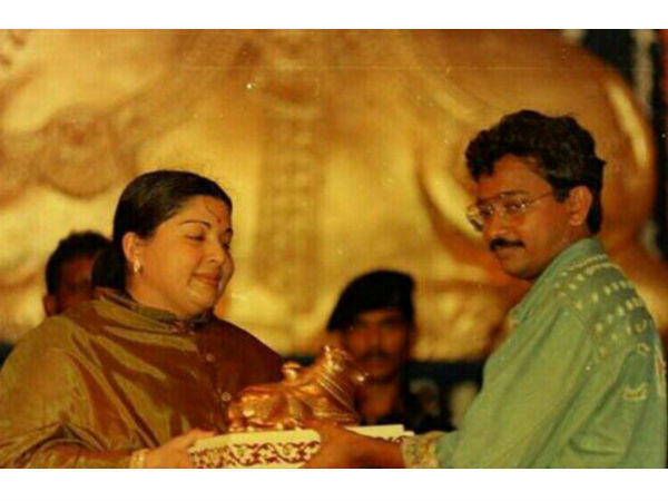 Ram Gopal Varma Remembers Jayalalithaa! Says He Attended An Award Show Only Because Of Her Presence!
