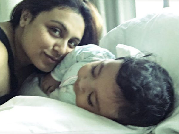 TRENDING: Rani Mukerji Shares First Picture Of Baby Adira & Pens Down A Herattouching Letter!