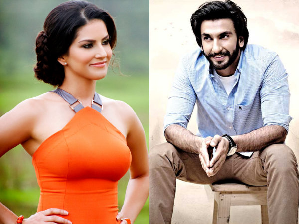 Ranveer Singh Congratulates Sunny Leone On Her 'Mobile App' Launch!