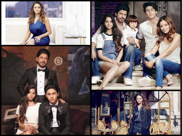 OH MY GOD! Shahrukh & Gauri Khan's Awesome Photoshoot With Aryan, Suhana & AbRam!