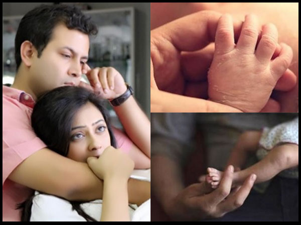 Shweta Tiwari & Abhinav Kohli Share Adorable Pictures Of Their Newborn 'Reyansh'