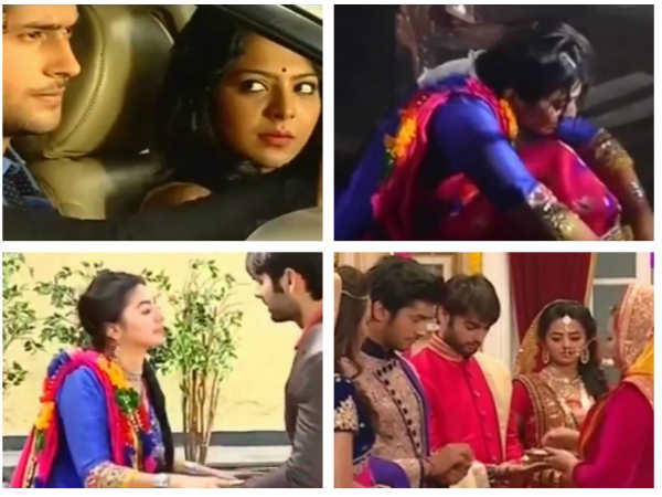 Swaragini Spoiler: Swara & Ragini Back In The Maheshwari House With Sanskar & Lakshya! (PICS)