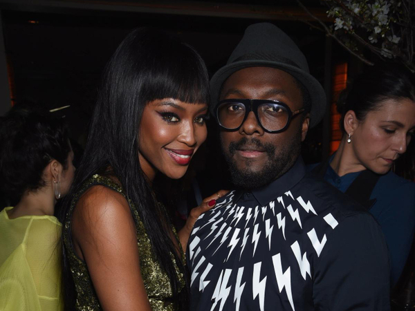 Will.i.am Calls Naomi Campbell – The Queen Of Fashion