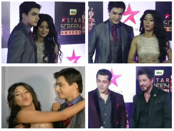 WOW! Yeh Rishta Kya Kehlata Hai's Kartik & Naira At Star Screen Awards!