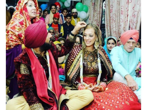 Yuvraj Singh Hazel Keech Wedding Marriage