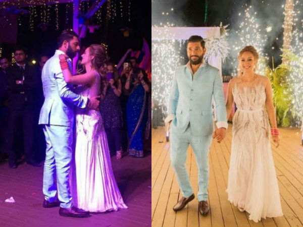 Yuvraj Singh & Hazel Keech Goa Wedding: Inside Pictures Of The Reception!