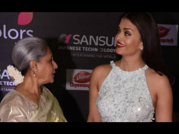 Aishwarya & Jaya In A Chatty Mode