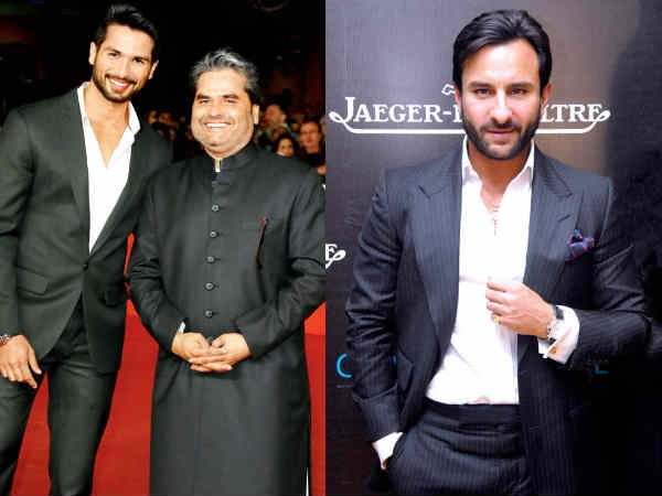 7. Vishal Bhardwaj Collaborating With Shahid And Saif