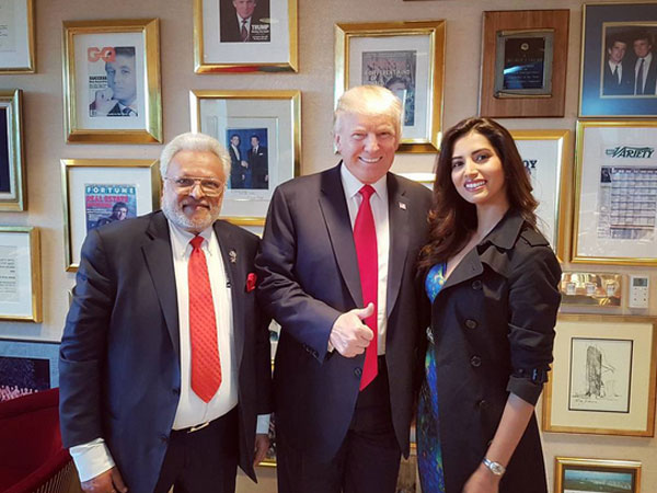 Bollywood Actress Manasvi Mamgai Meets Donald Trump! To Perform At The Inauguration Day Concert
