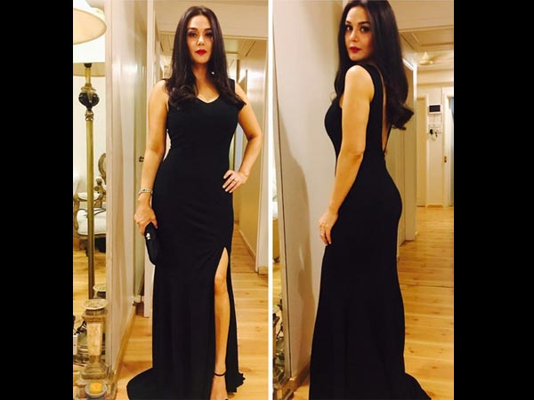 Preity Zinta Look For The After Party
