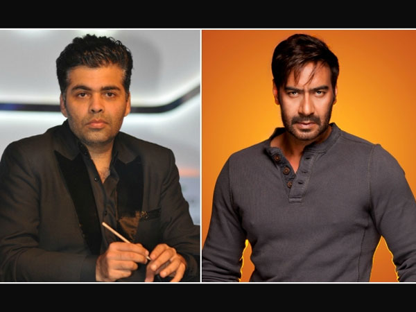 Karan Johar Wants To Take His Fight With Ajay To The Next Level
