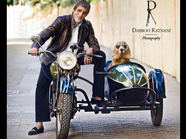 In Pic: Big B's Photoshoot For Mr Ratnani