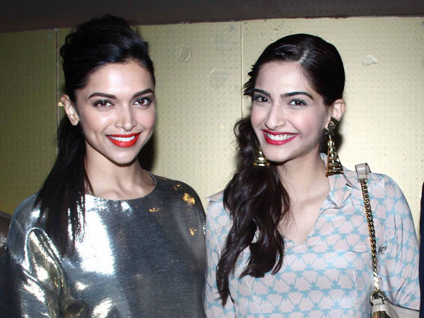 Oops! Sonam Kapoor Says She Does Not Know Deepika Padukone At All