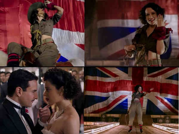 WATCH: Kangana Ranaut Turns A Sexy Hunterwaali For 'Bloody Hell' Song In Rangoon!