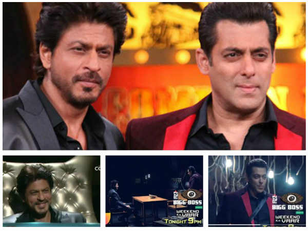 Salman & Shahrukh Khan's Masti On Bigg Boss 10; SRK Gives A Secret Task To Manveer!