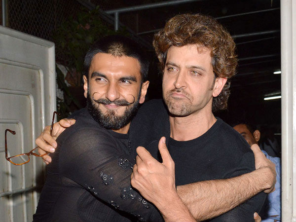 Dear Ranveer Singh, Hrithik Roshan Can't Stop Praising Your Performance In This Film!