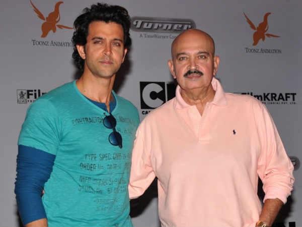 Image result for hrithik roshan with rakesh roshan