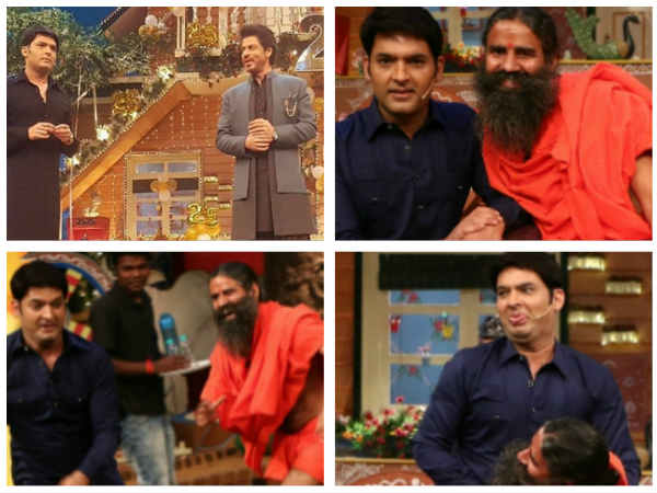 UP NEXT! Baba Ramdev & Shahrukh Khan To Appear On 'The Kapil Sharma Show'!