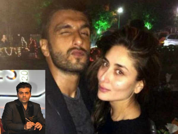 WOW! Karan Johar Keen To Do A Film With Ranveer Singh & Kareena Kapoor Khan?