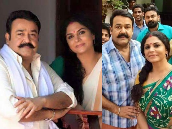 Mohanlal & Asha Sarath Are Back Together