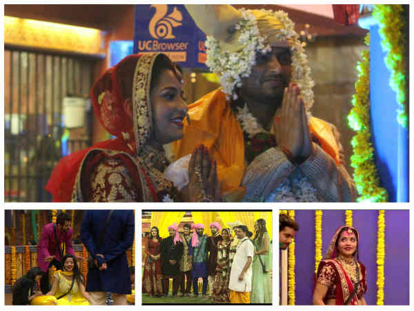WEDDING PICS: Monalisa-Vikrant Marry Amidst Bigg Boss 10 Friends & Family; Mona Sent To Secret Room!