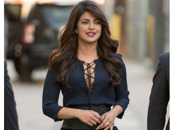 Priyanka Chopra Gets Back To Work After Suffering From An Injury!