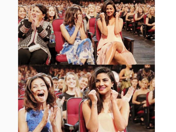 PRICELESS! Priyanka Chopra's Reaction On Winning Big At People's Choice Awards 2017 [Pictures]