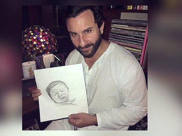 LOL! Saif Ali Khan's Sarcastic Take On Baby Taimur Ali Khan & The Entire Controversy Is Bang On!