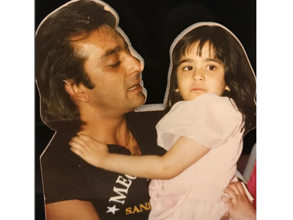 Sanjay Dutt Daughter Trishala Dutt Childhood