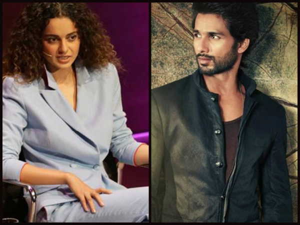 Shahid Kapoor Opens Up About His Fallout With Kangana Ranaut While Shooting Rangoon!