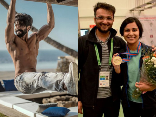 Shahid Kapoor Trained Under Commonwealth Games 'Gold Medallist' Ronak Pandit For Rangoon!