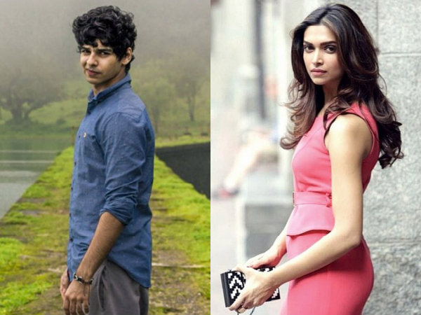 Shahid Kapoor's half-brother Ishaan Khattar to debut with Deepika Padukone?