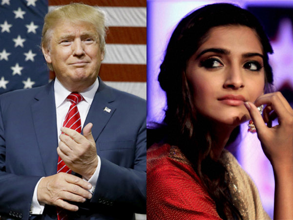Sonam Kapoor Calls Donald Trump A Joker For Labelling Meryl Streep An Over-rated Actress!