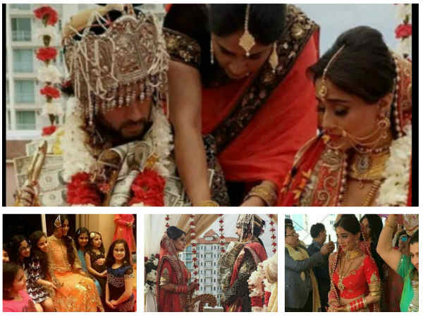 WEDDING PICS: Navya Actress Soumya Seth Ties The Knot With Arun Kapoor