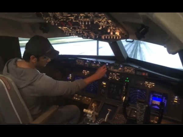 FLIGHT ALERT! Here's How Sushant Singh Rajput Is Prepping Up For Chandamama Door Ke