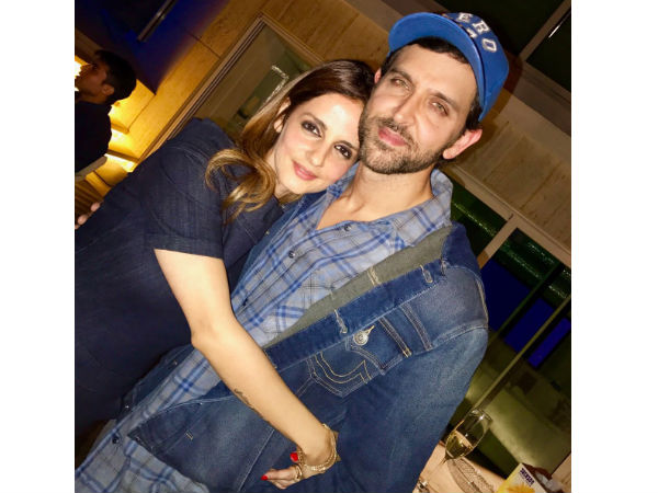 Cute Picture! Sussanne Khan Roots For The Success Of Hrithik Roshan's Kaabil